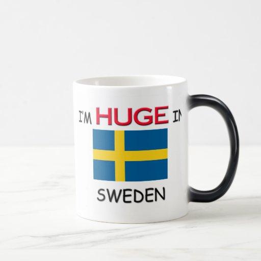 I'm HUGE In SWEDEN 11 Oz Magic Heat Color-Changing Coffee Mug