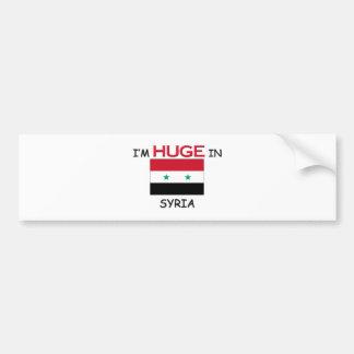I'm HUGE In SYRIA Bumper Stickers