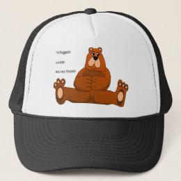 I'm Huggable, Lovable and Flexible Trucker Hat