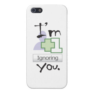 I'm Ignoring You iPhone 4 icase iPhone SE/5/5s Cover