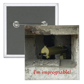 I'm impregnable! button