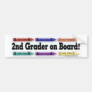 I'm in 2nd Grade! Bumper Stickers