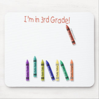 I'm in 3rd Grade! Mousepads