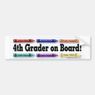 I'm in 4th Grade! Bumper Stickers