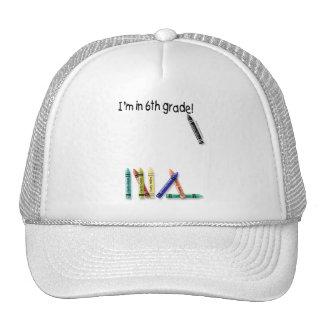 I'm in 6th Grade! Hat