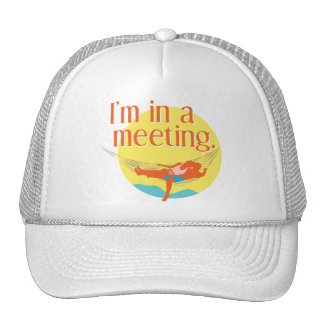 I'm in a meeting... hats