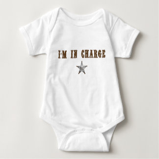I'm In Charge Baby Bodysuit