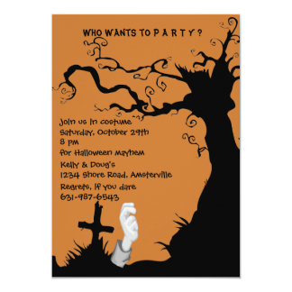 I'm In Halloween Party Invitation