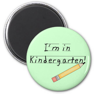 I'm in Kindergarten Tshirts and Gifts Refrigerator Magnets