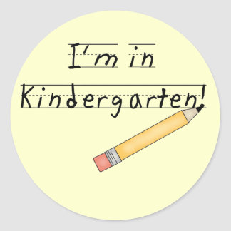 I'm in Kindergarten Tshirts and Gifts Stickers