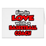 I'm In Love With A Basketball Coach Card