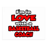 I'm In Love With A Basketball Coach Postcards