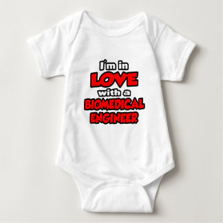 I'm In Love With A Biomedical Engineer Baby Bodysuit