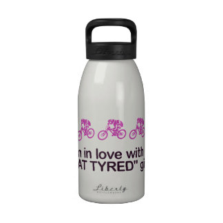 I'm in love with a fat tyred girl drinking bottle
