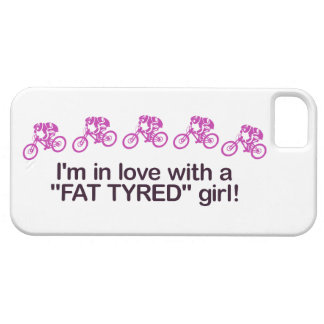 I'm in love with a fat tyred girl iPhone SE/5/5s case