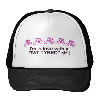 I'm in love with a fat tyred girl trucker hat
