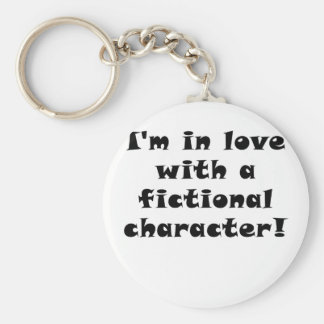Im in Love with a fictional character Key Chain