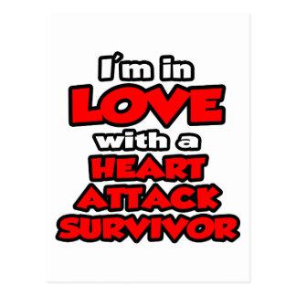 I'm In Love With A Heart Attack Survivor Postcard