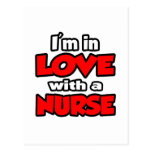 I'm In Love With A Nurse Postcard