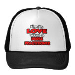 I'm In Love With A Nurse Practitioner Trucker Hat