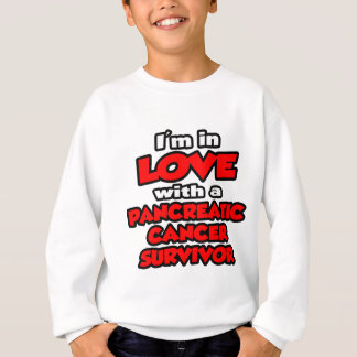 I'm In Love With A Pancreatic Cancer Survivor Sweatshirt