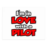 I'm In Love With A Pilot Postcard
