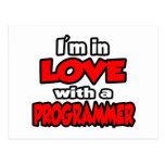 I'm In Love With A Programmer Postcard