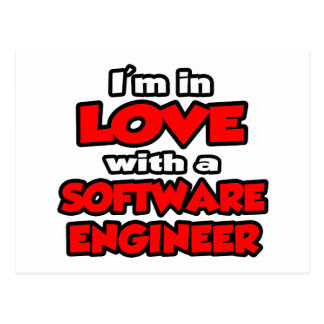 I'm In Love With A Software Engineer Postcard