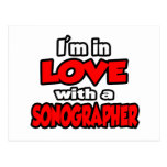 I'm In Love With A Sonographer Postcard