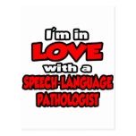 I'm In Love With A Speech-Language Pathologist Post Cards