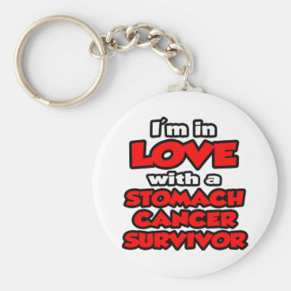 I'm In Love With A Stomach Cancer Survivor Keychain