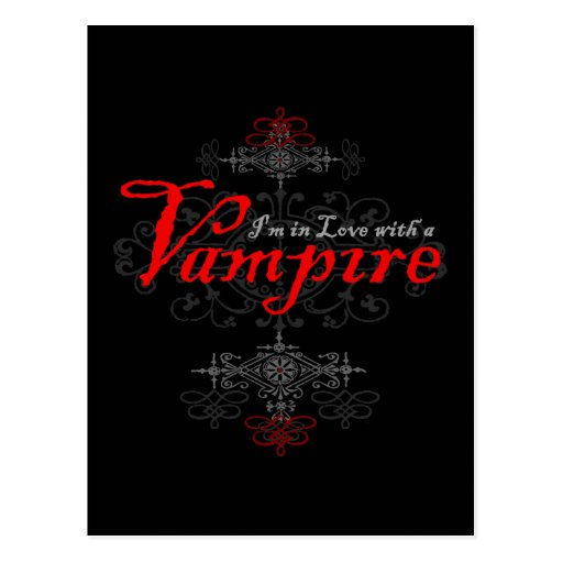 I'm In Love with a Vampire Postcard