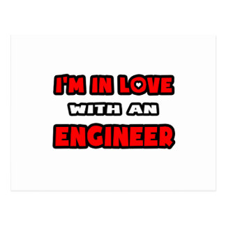 I'm In Love With An Engineer Postcard