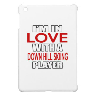 I'm in love with DOWN HILL SKIING Player Case For The iPad Mini