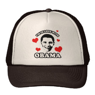 I'm in love with Obama Trucker Hats