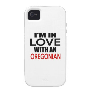 I'M IN LOVE WITH OREGONIAN iPhone 4/4S COVER