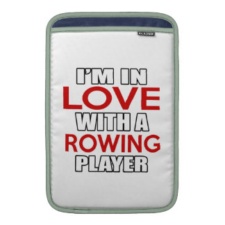I'm in love with ROWING Player MacBook Air Sleeve