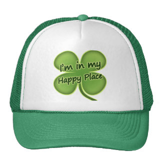 I'm In My Happy Place Trucker Hats