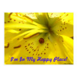 I'm In My Happy Place! Postcard