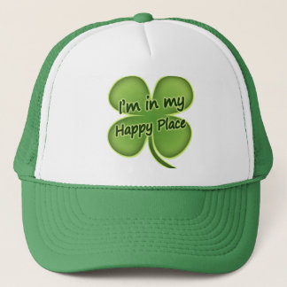 I'm In My Happy Place Trucker Hat