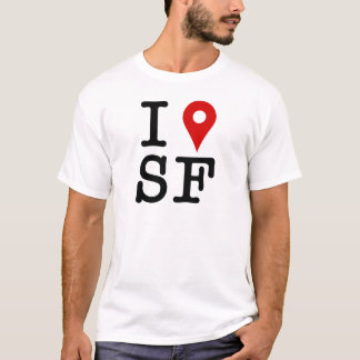 I'm in San Francisco - network pushpin T-Shirt