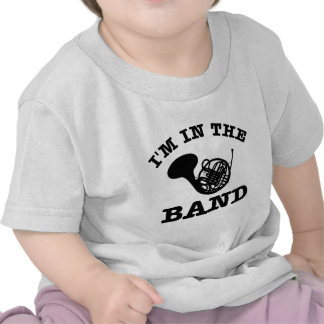 I'm in the band French Horn designs Shirts