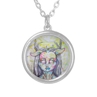 """Im in the front"" necklace village EOartwork"