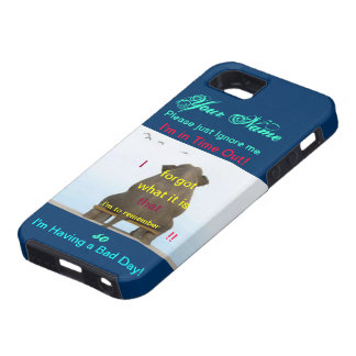 I'm in Time out Elephant Vibe Iphone5 iPhone SE/5/5s Case