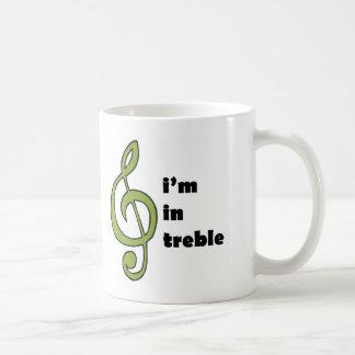 I'm in Treble Coffee Mug
