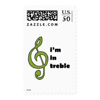 I'm in Treble Postage