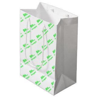 I'm Incognito - Choose Background Color Medium Gift Bag