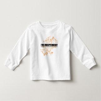 I'm Independent Toddler Long Sleeve Toddler T-shirt