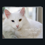 """I'm Into Cats and Kittens of Course 2020 Calendar<br><div class=""""desc"""">This lovely calendar features colorful and vibrant cat and kitten portraits by pet photographer Rebecca L. Bolam.</div>"""