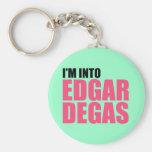 I'm Into Edgar Degas Basic Round Button Keychain